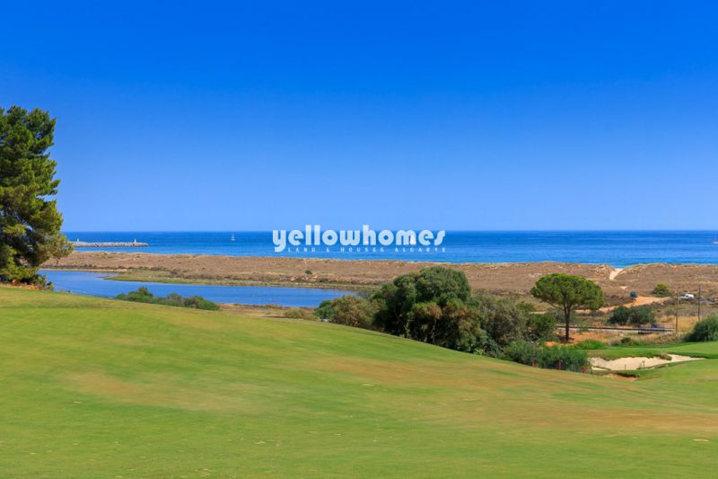 Unique building plots with golf and sea view in 5* Golf Resort near Lagos
